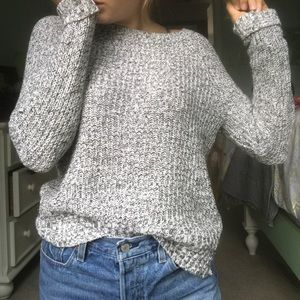 Salt and pepper sweater from American eagle